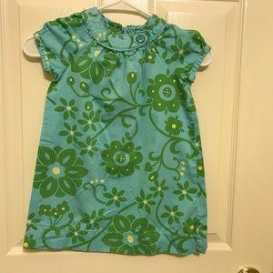 A little girl's dress size 4T from Gap
